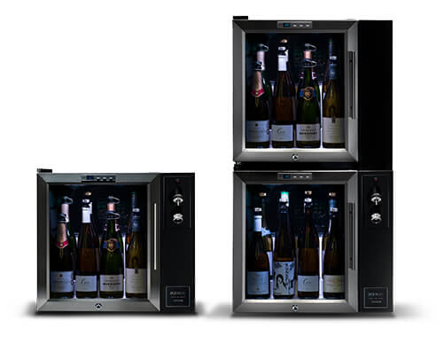 Wine & Champagne preservation meets perfect refrigeration